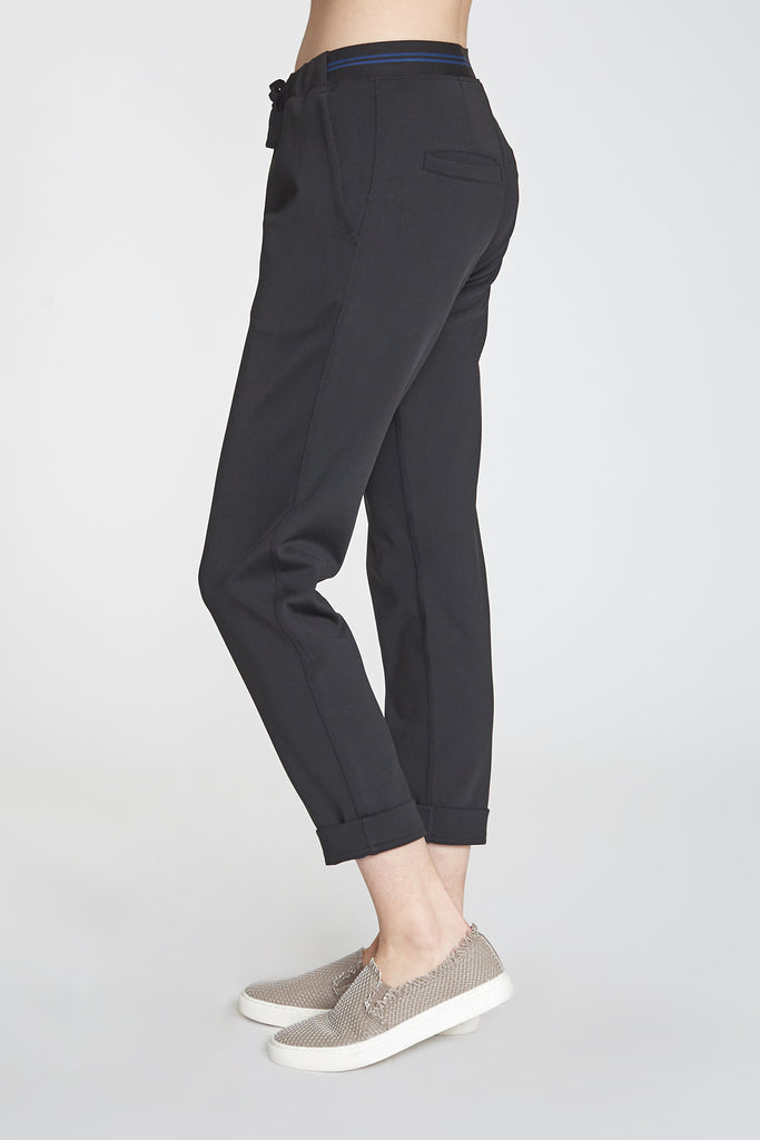 STELLA DOUBLE FACE SECOND SKIN PERFORMANCE PANT BLACK/SPACE BLUE