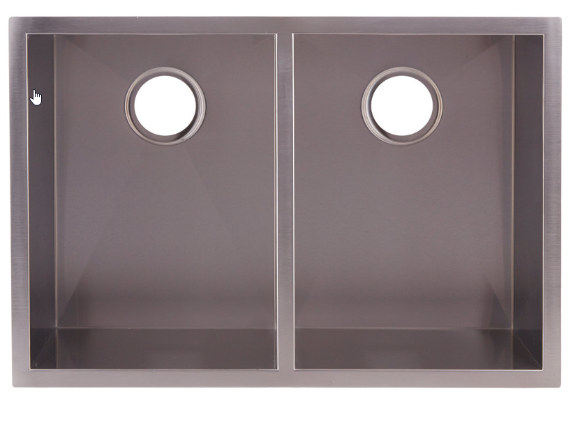DAX-SQ-2920A DOUBLE UNDERMOUNT SINK