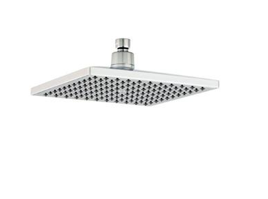 "MZ 8"" SQUARE CHROME SHOWER HEAD"