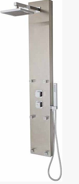MZ TETRA SHOWER PANEL 3 pts/ 6 jets