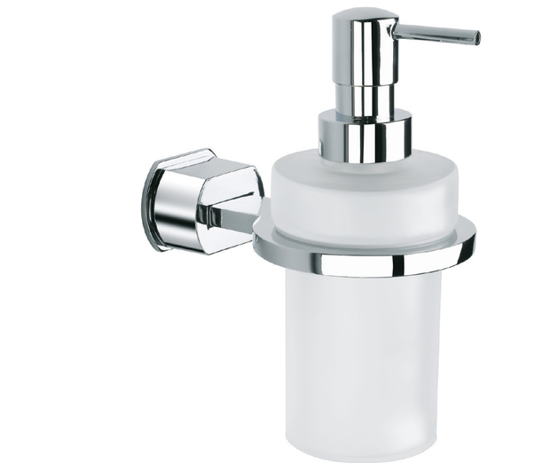 BAÑO DISEÑO POP COLLECTION WALL SOAP DISPENSER (GLASS)