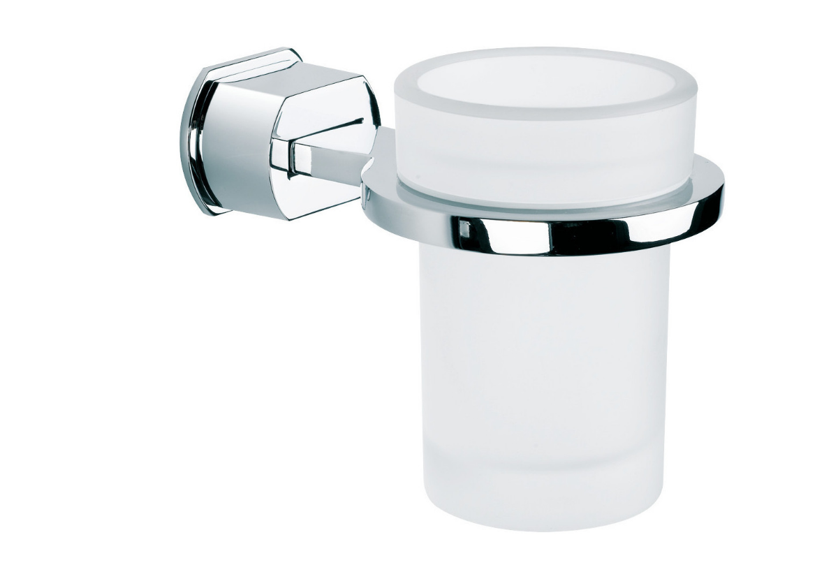 BAÑO DISEÑO POP COLLECTION TUMBLER HOLDER (GLASS)