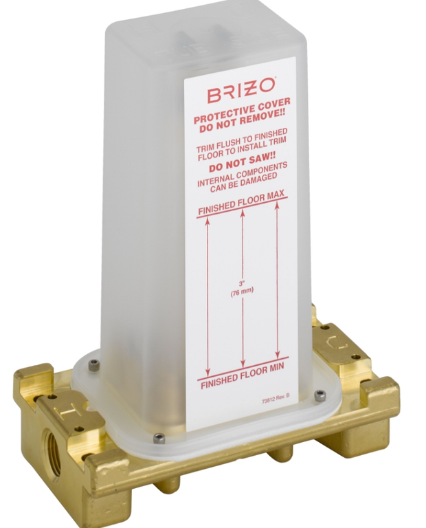 "Brizo R70100 Universal 1/2"" Rough-In Valve For Freestanding Tub Filler"
