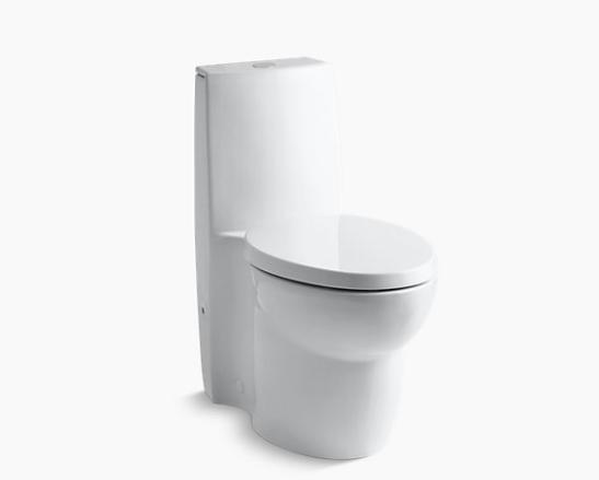 KOHLER SAILE DUAL-FLUSH SKIRTED TOILET