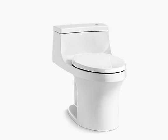 KOHLER SAN SOUCI TOUCHLESS COMFORT  HEIGHT TOILET