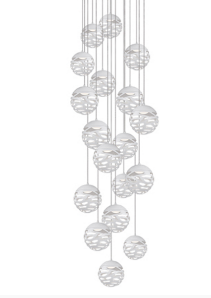 KUZCO LIGHTING MP2518 WH