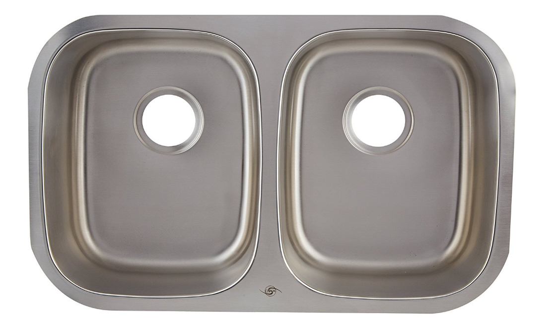 DAX-2918 DOUBLE UNDERMOUNT SINK