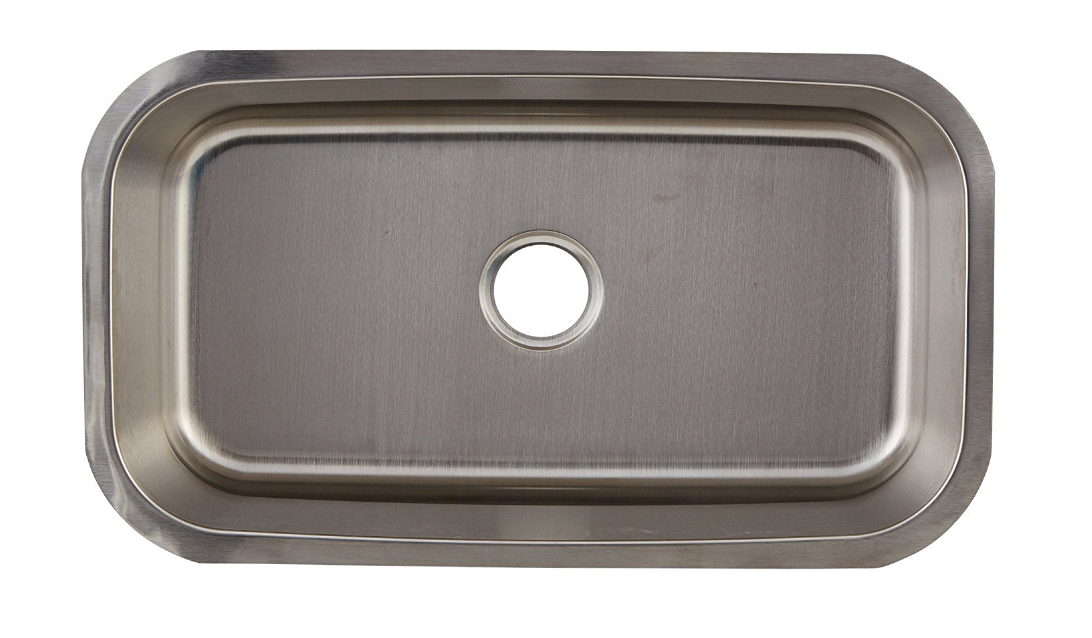DAX-3018  SINGLE UNDERMOUNT SINK