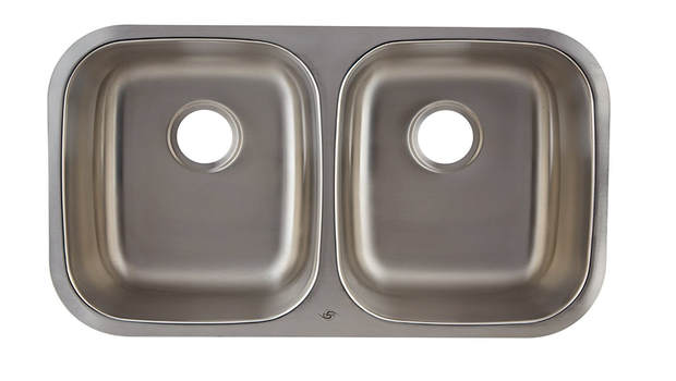 DAX-3118 DOUBLE UNDERMOUNT SINK