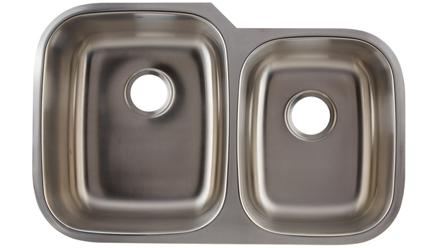 DAX-3120L DOUBLE UNDERMOUNT SINK