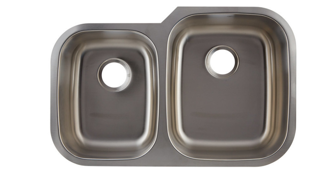 DAX-3120R DOUBLE UNDERMOUNT SINK