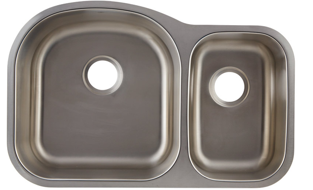 DAX-3121L DOUBLE UNDERMOUNT SINK