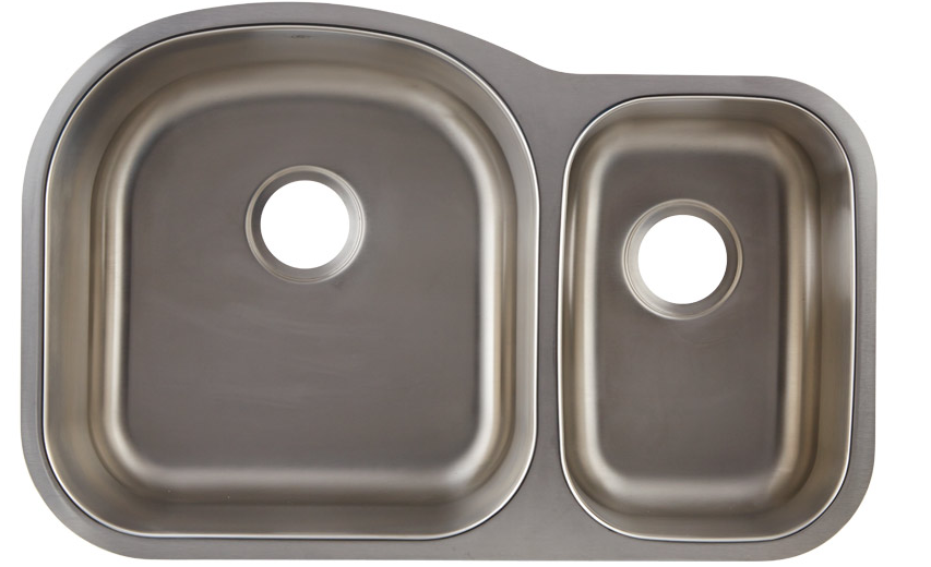 DAX-3121R DOUBLE UNDERMOUNT SINK