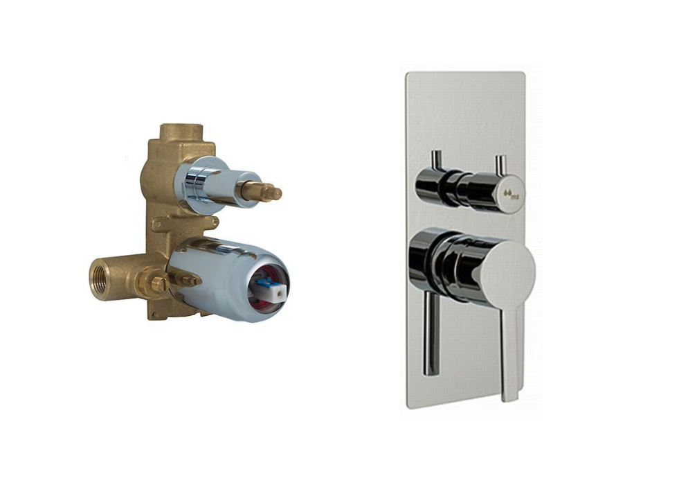 MZ/ BRESS TRIM TUB/ SHOWER VALVE W/ ROUGHT-IN