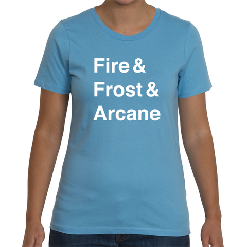Mage Women's T-Shirt (White Text)