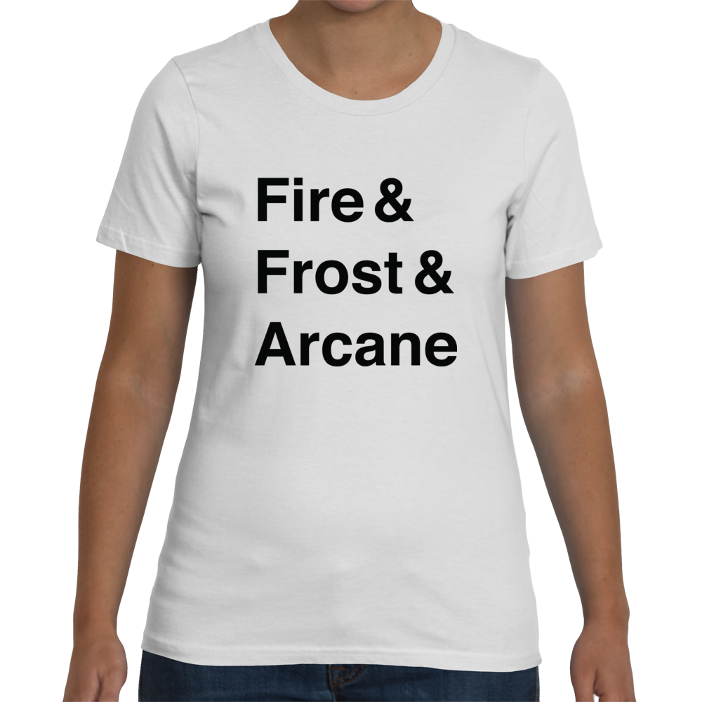 Mage Women's T-Shirt (Black Text)