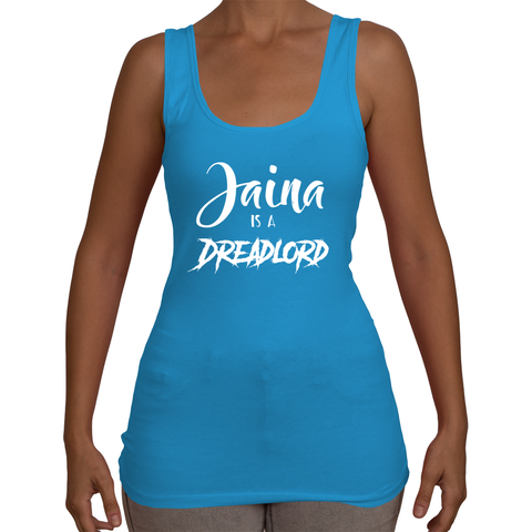 Jaina is a Dreadlord Women's Tank Top