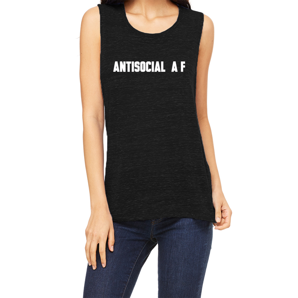 Antisocial Muscle Tank