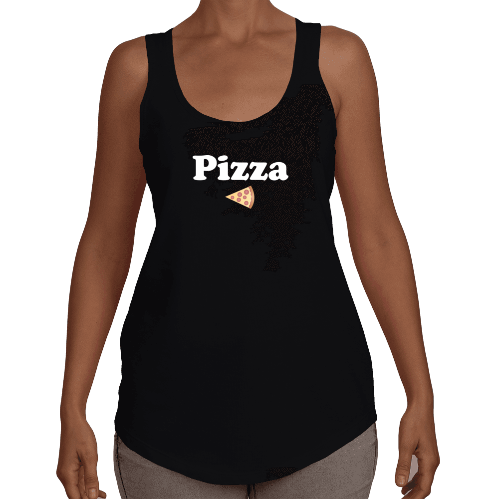Pizza Loose Fit Racerback Tank Top