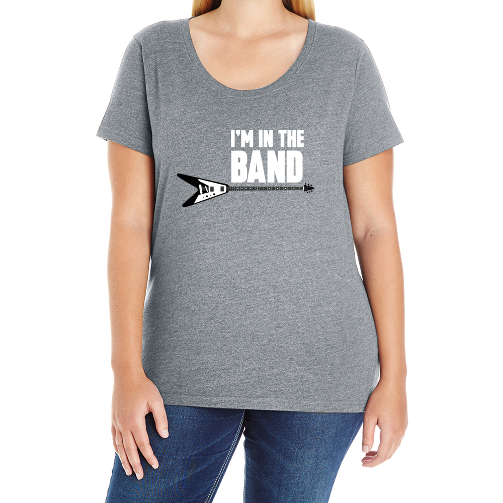 I'm In The Band Women's Plus T-Shirt