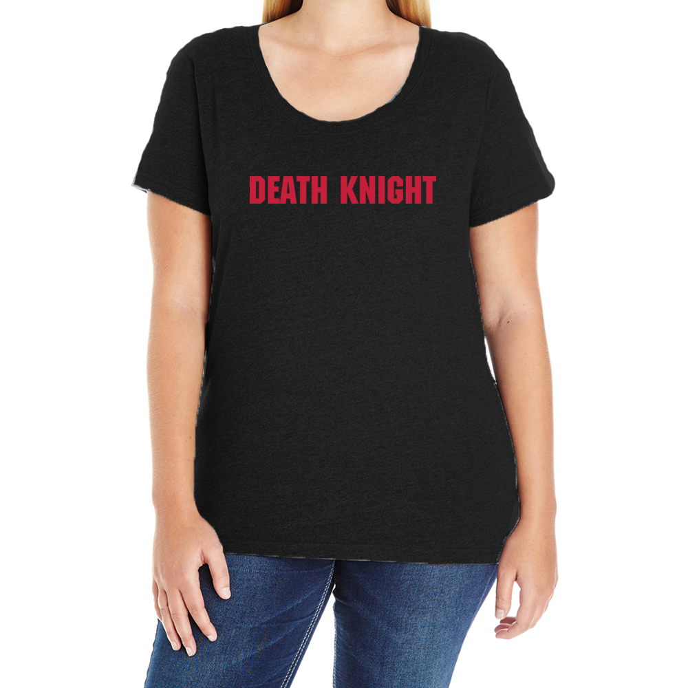 Team Death Knight Women's Plus T-Shirt