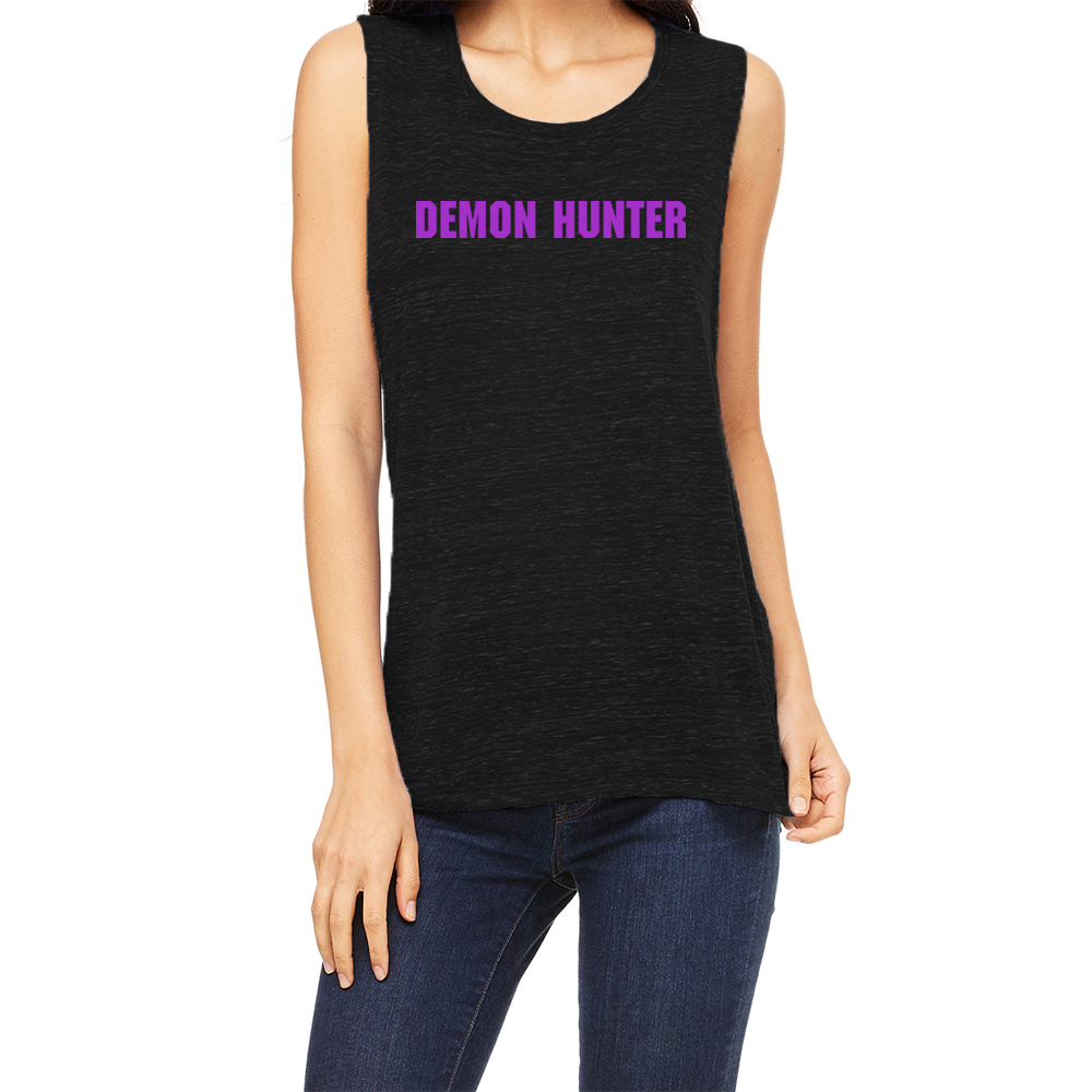 Team Demon Hunter Women's Muscle Tank