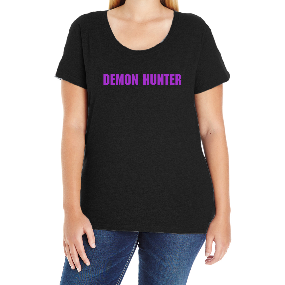 Team Demon Hunter Women's Plus T-Shirt