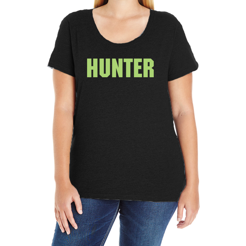 Team Hunter Women's Plus T-Shirt