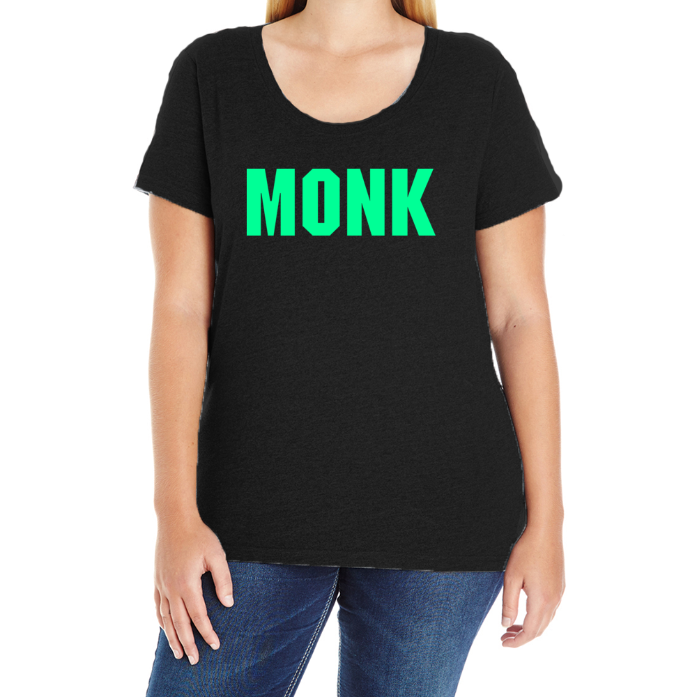 Team Monk Women's Plus T-Shirt