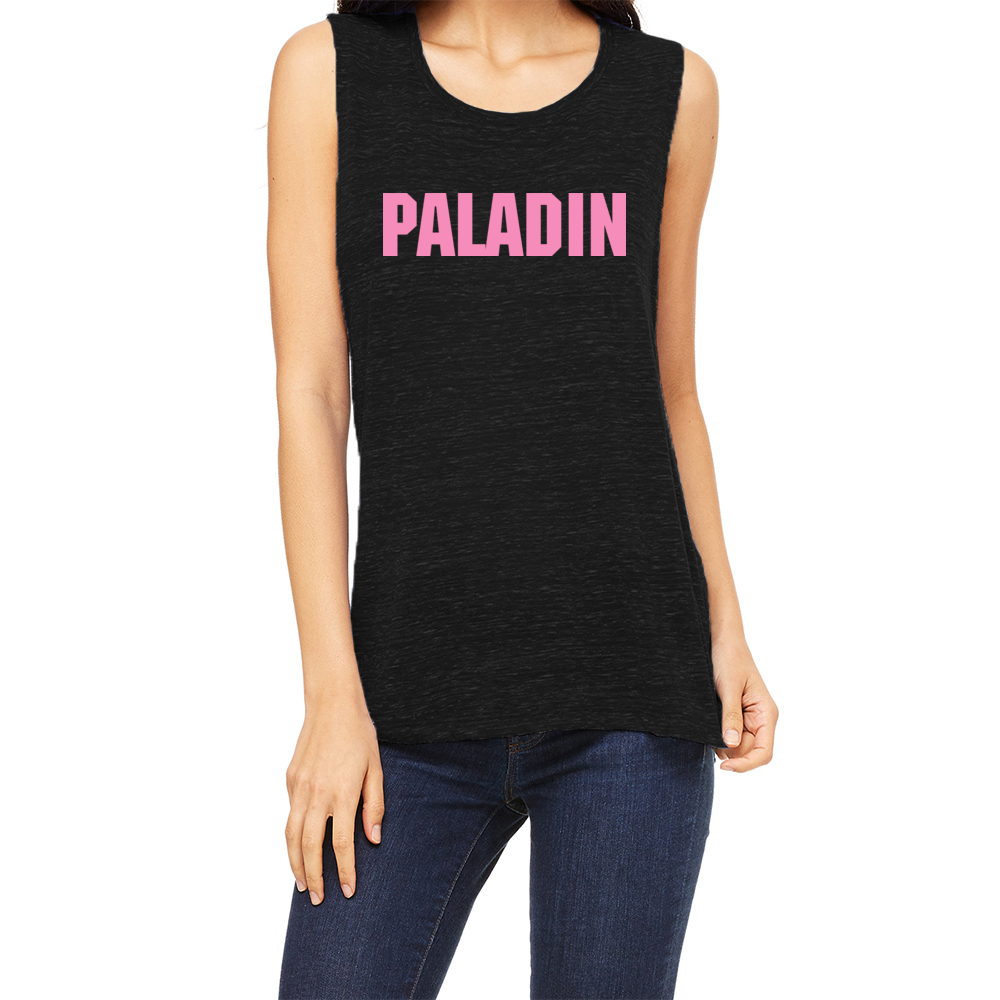 Team Paladin Women's Muscle Tank Top