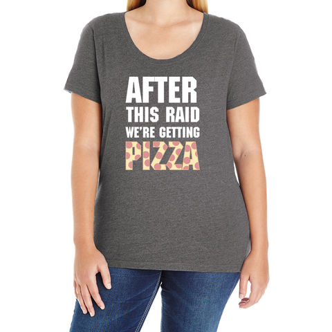 After This Raid Women's Plus Tee