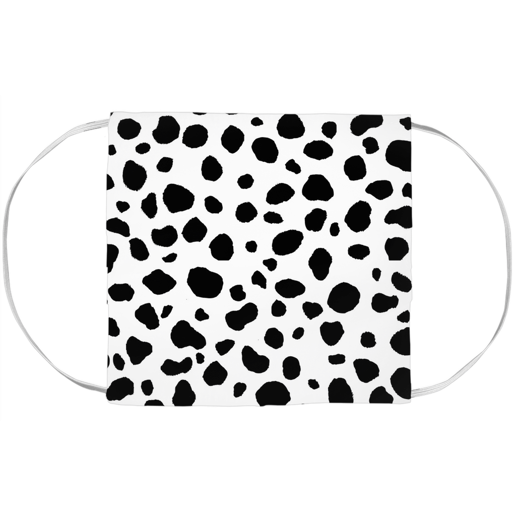 Dalmatian Face Mask Cover