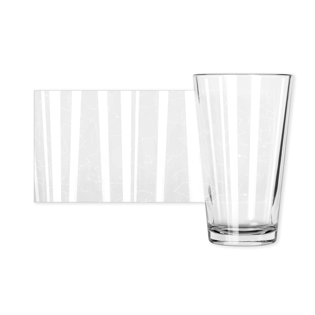 Constellation Pint Glasses