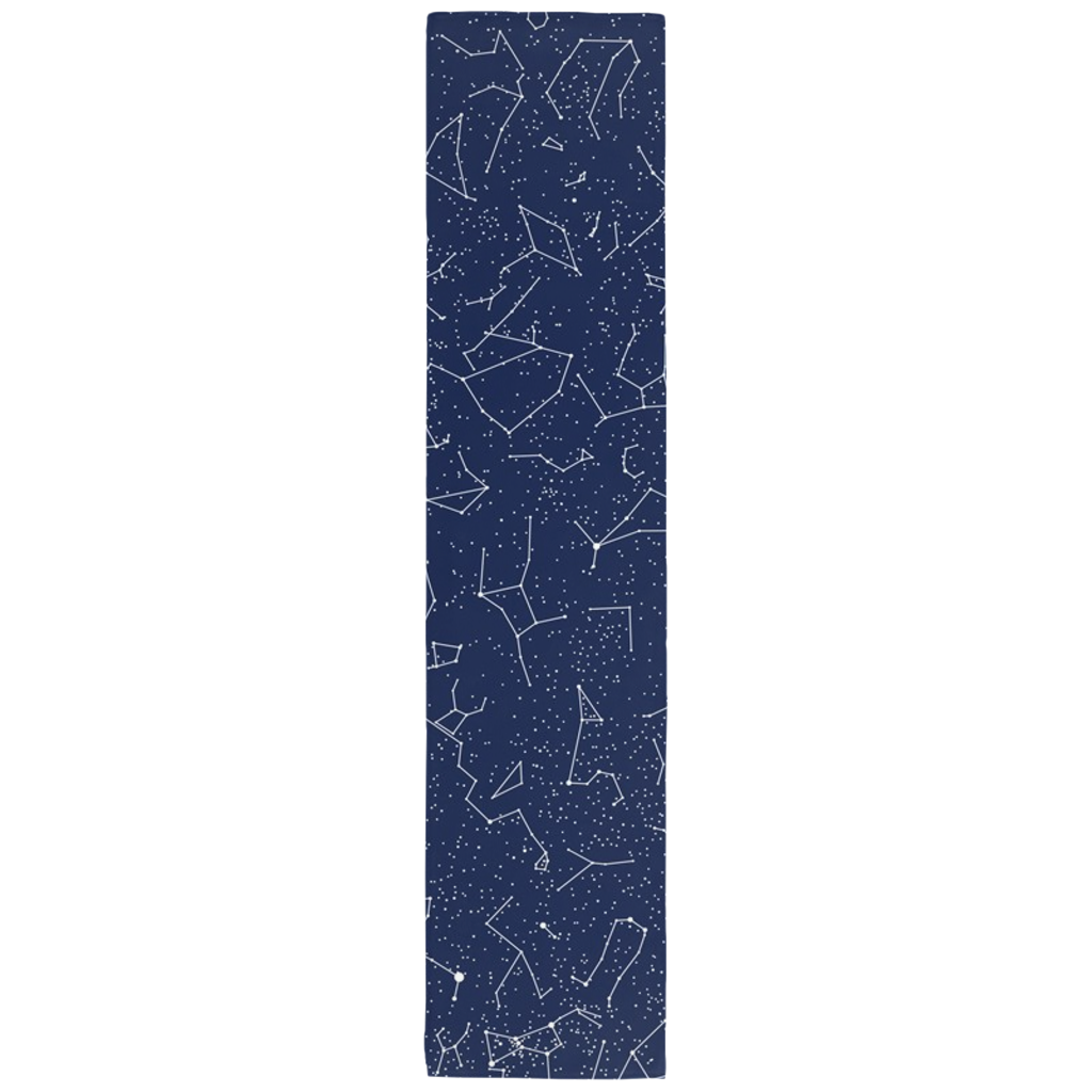Constellation Table Runner in Navy