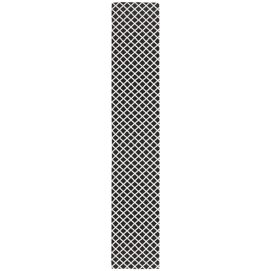 Lattice Table Runner in Black