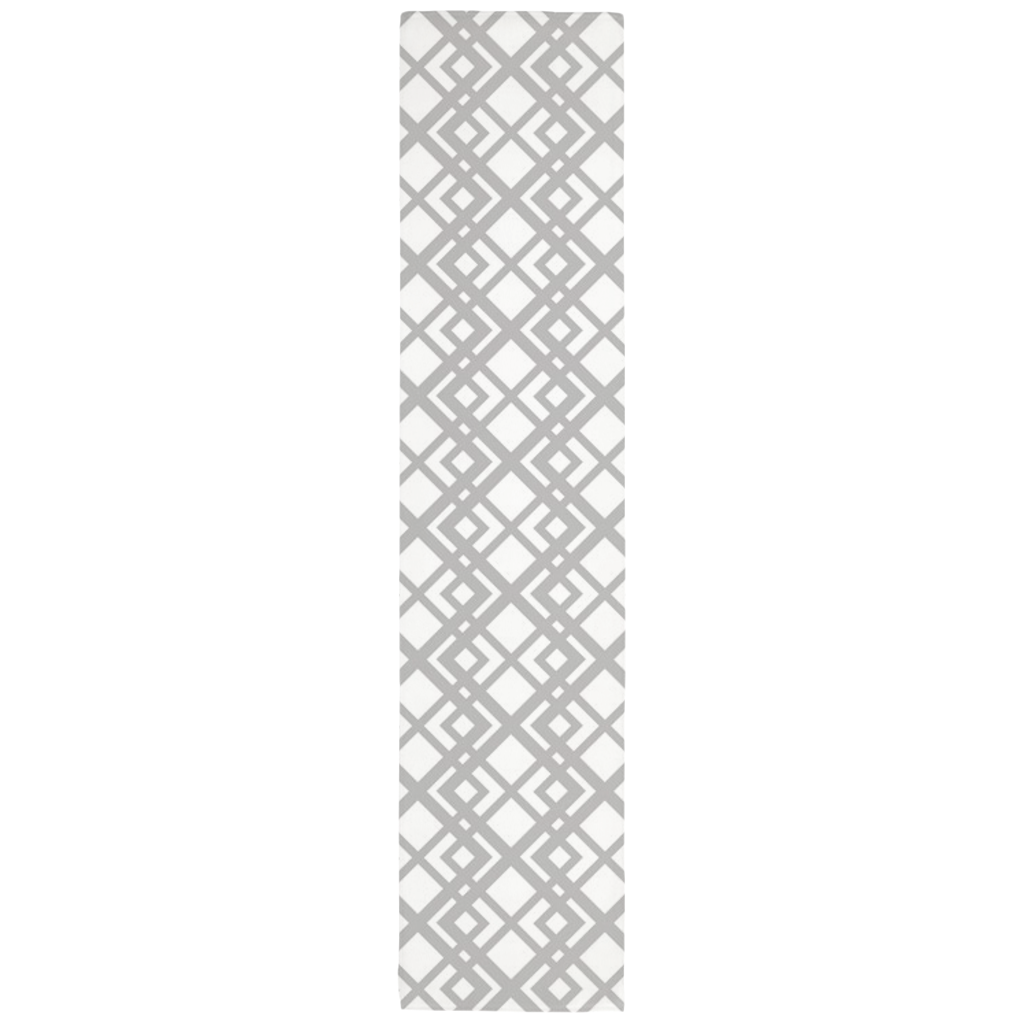 Hectic Table Runner in Gray