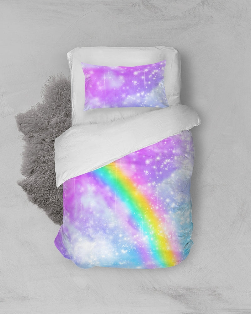 Pastel Galaxy Twin Duvet Cover Set