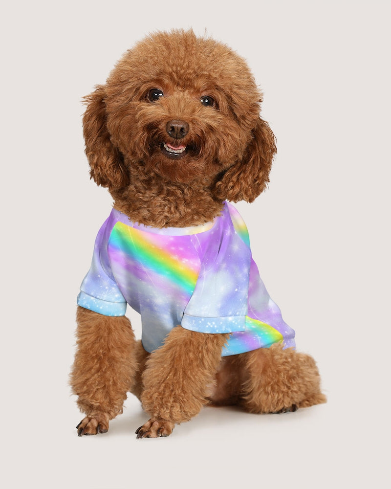 Pastel Galaxy Small Doggie Tee