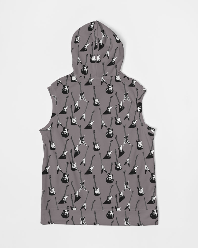 Guitar-a-palooza Men's Premium Heavyweight Sleeveless Hoodie