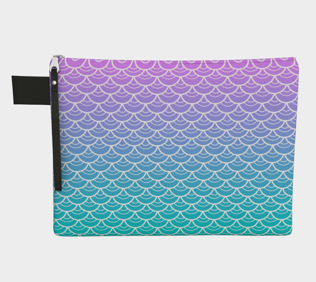 Sea Siren Carry All Makeup Bag