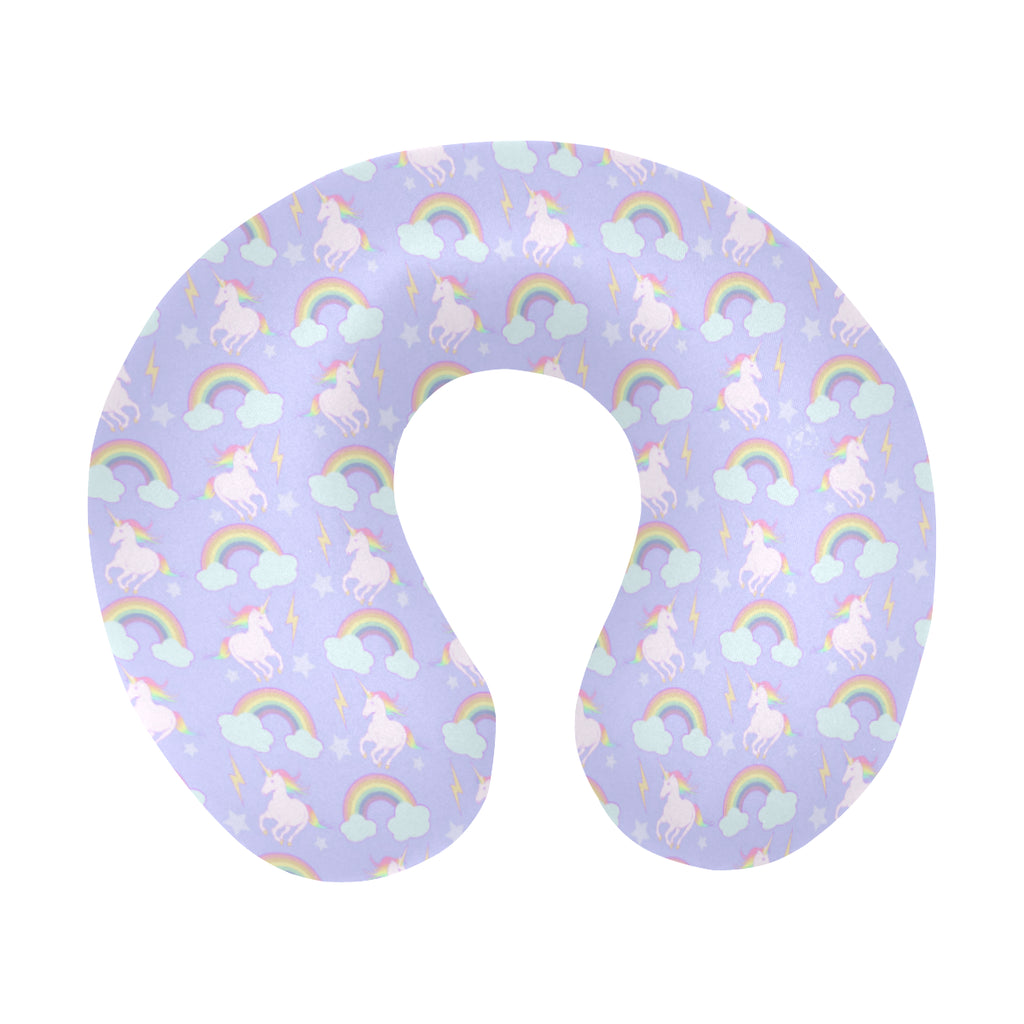 Unicorns & Rainbows Travel Neck Pillow