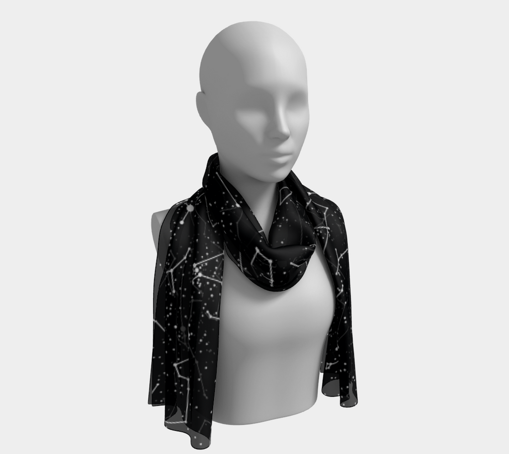 Constellations Long Scarf