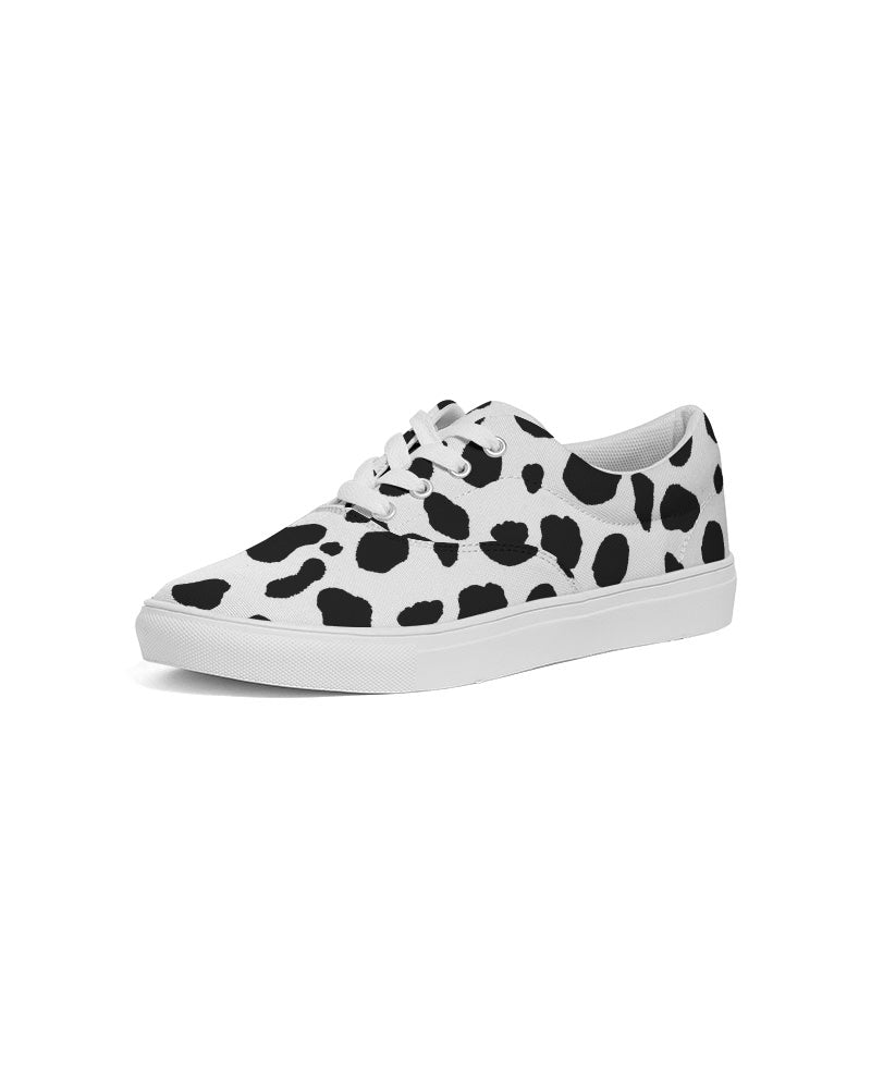 Dalmatian Women's Lace Up Canvas Shoe