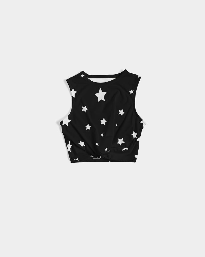 Starry Women's Twist-Front Tank