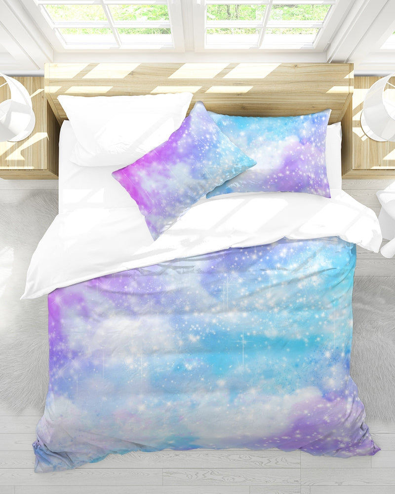 Pastel Galaxy Bedding- Queen Size