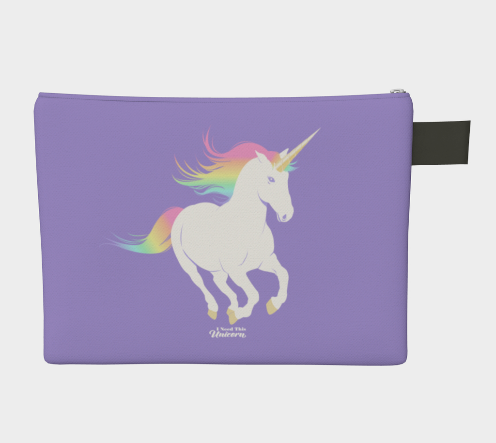 Legendary Rainbow Unicorn Pouch