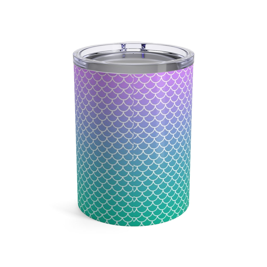 Mermaid Scale Tumbler 10oz