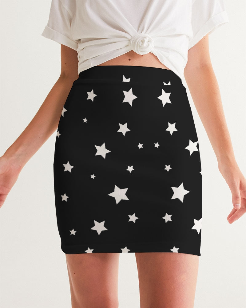Starry Women's Mini Skirt