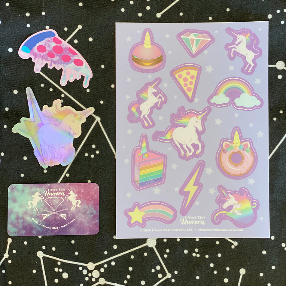 Unicorn Party Sticker Bundle