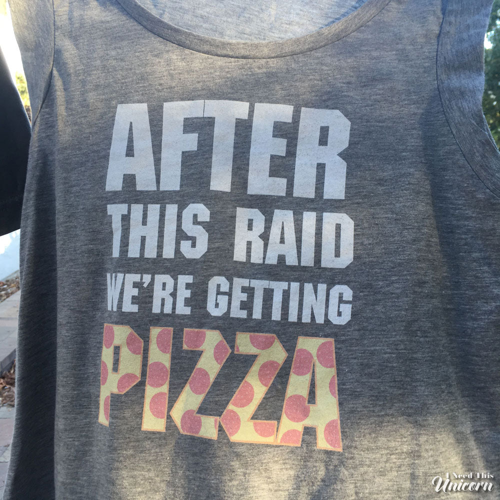 After This Raid Women's Muscle Tank